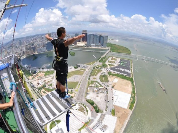 Image result for bungee jump in Macau
